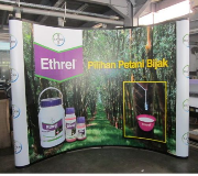 Backdrop Pop Up Backwall Pameran Bayer Ethrel