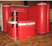 Complete Booth (Easy Counter, Backdrop Snap Up, Snap Up Tower) Bank CIMB