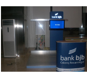 Custom Booth (Easy Counter, Click Frame) Bank BJB
