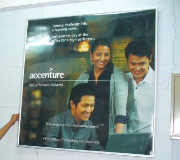 Display Promosional Click Frame Accenture