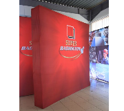 Backdrop Pop Up Fabric Backwall Djarum