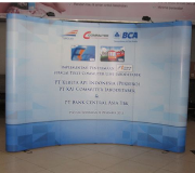 Backdrop Pop Up Backwall Pameran PT Kereta Api Indonesia