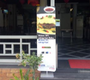 Standing Banner FD Banner Stand 1 Sided