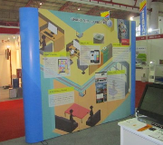 Backdrop Snap Up Backwall Pameran