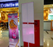 Standing Poster Frame STand 2 Sided Plaza Imperium Pluit Jakarta