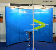 Backdrop Pop Up Backwall Pameran Accenture