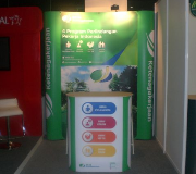 Meja Promosi Easy Counter Pameran BPJS