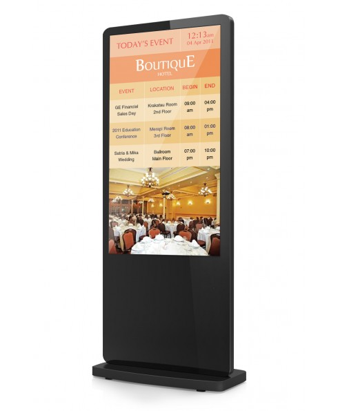 Digital Ad Display Floorstand 50 Inch