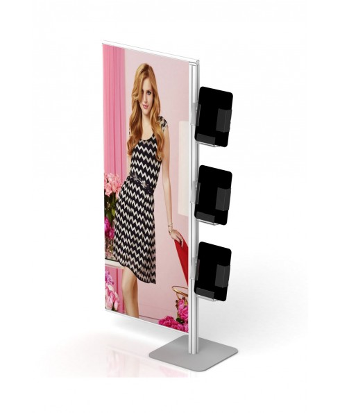 flexi display banner stand rak brosur