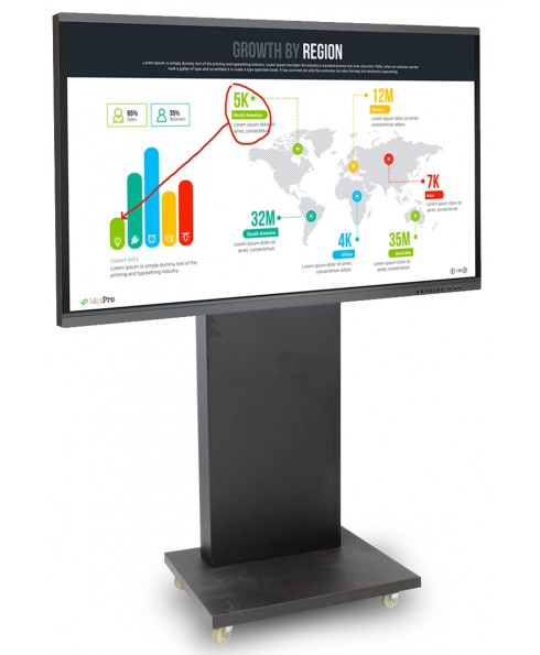 ICE Board 75 Inch 4K UHD With Stand