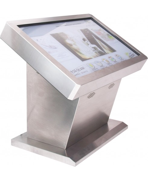 """Meja Stainless LCD Touchscreen FWI 55"""""""