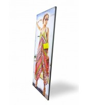 Fabric Frame L-35 LED Lightbox 1 Side 80 x 180 cm