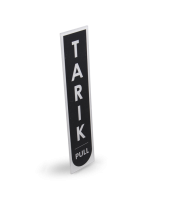 TARIK - Acrylic Rectangle Sign