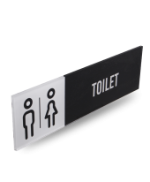 TOILET - Acrylic Rectangle Sign