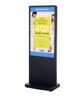"DigiSIGN Floorstand 49"" with Magic Info Software"