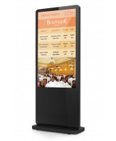 Monitor Touchscreen Floorstand 55""