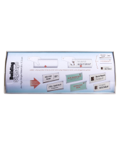 Papan Info Arc Sign Single Sided Ukuran 11,5 cm