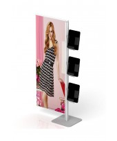 FD Banner Stand with Brochure Dispenser