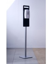 Svavo Automatic Hand Sanitizer with Acrylic Info Stand and Graphic