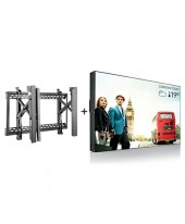 Philips Video Wall 49 Inch [BDL4988XC] + Bracket