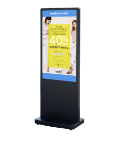 "DigiSIGN Floorstand 43"" with Magic Info Software"