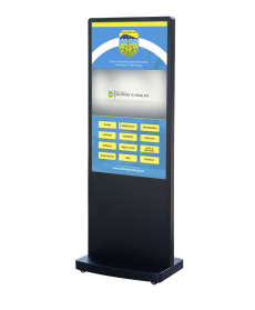 "DigiSIGN Floorstand 49"" with ADS Software"