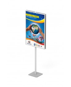 papan info frame stand 60x90