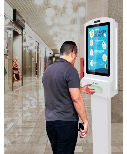 DigiSign Hand Sanitizer Non Touchscreen 21.5 inch with Stand