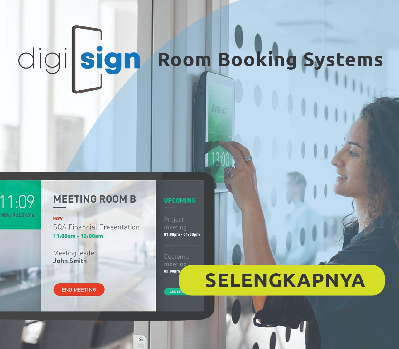 ROOM BOOKING DISPLAY SOLUTION