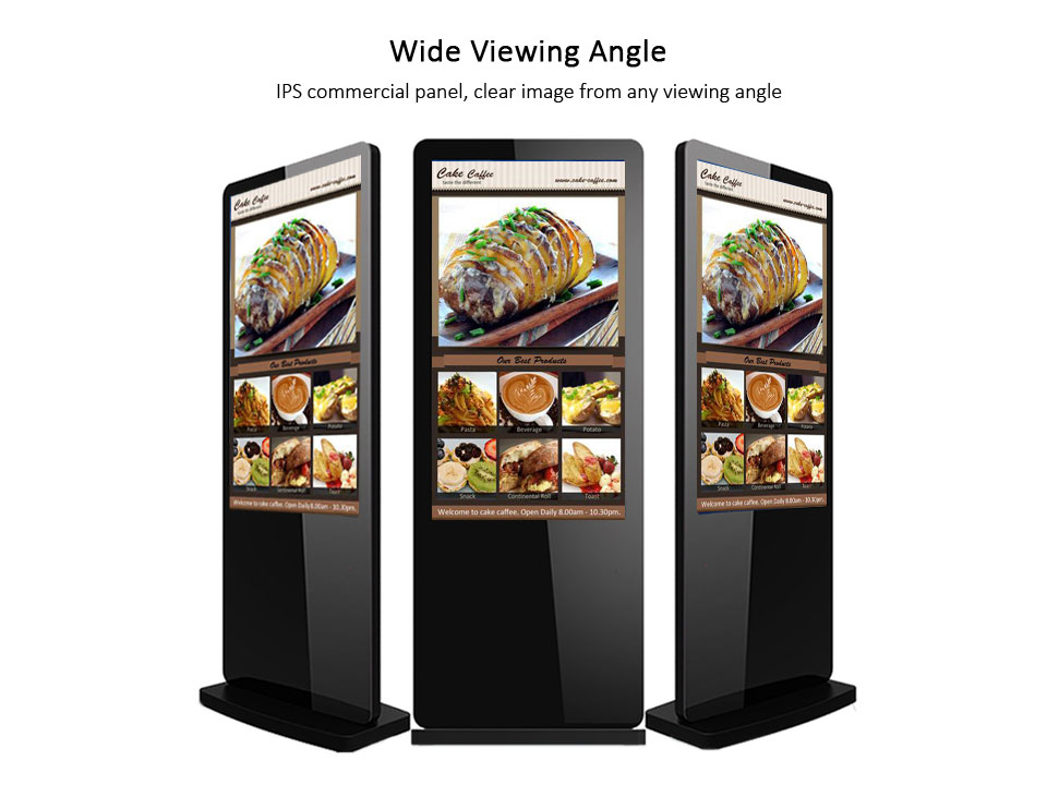 Ad Display Floorstand