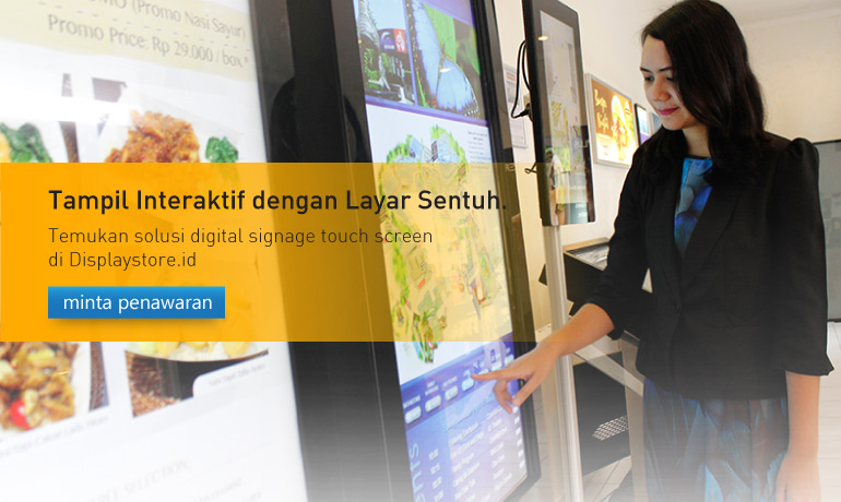 Digital Signage Touchscreen