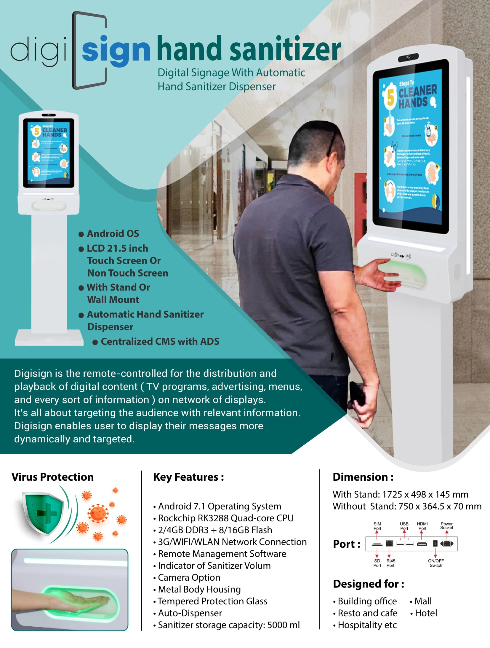 Digital Hand Sanitizer