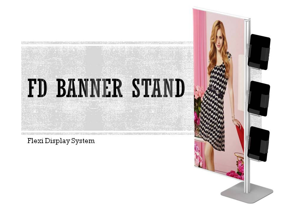 fd banner stand display