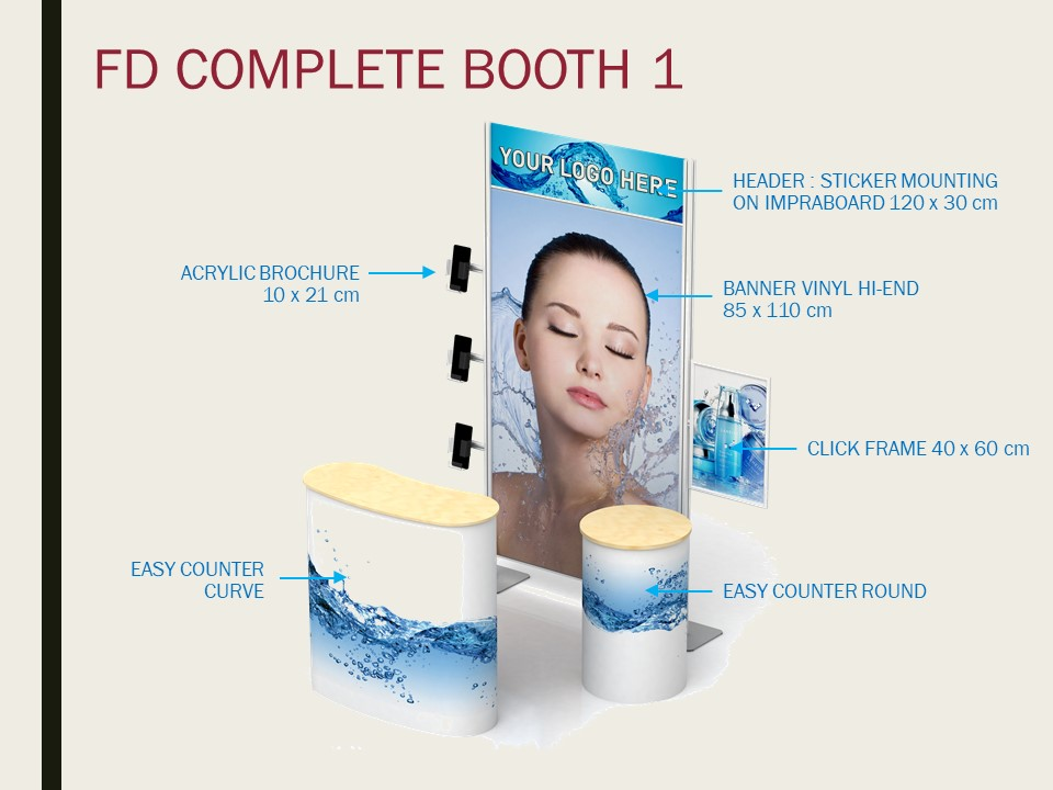 booth portable fd complete booth