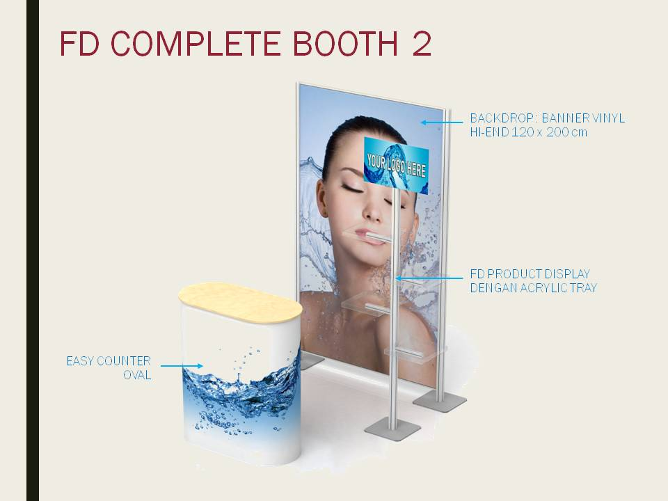 fd complete booth portable display