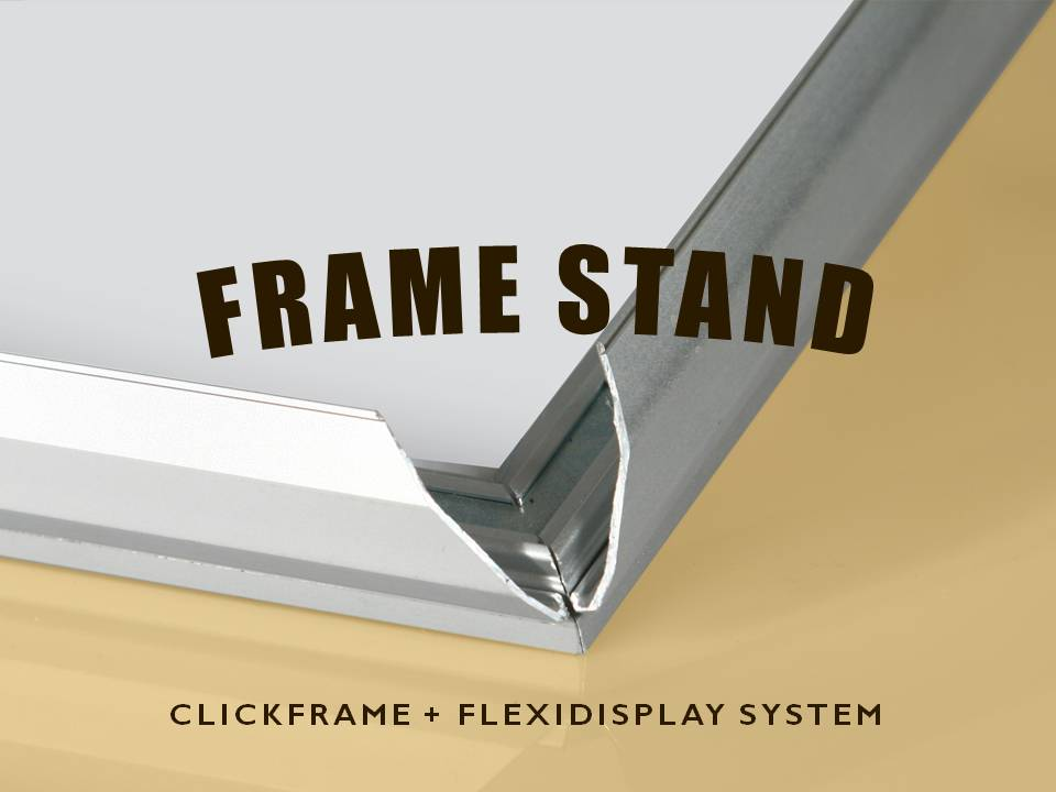 display frame stand 2