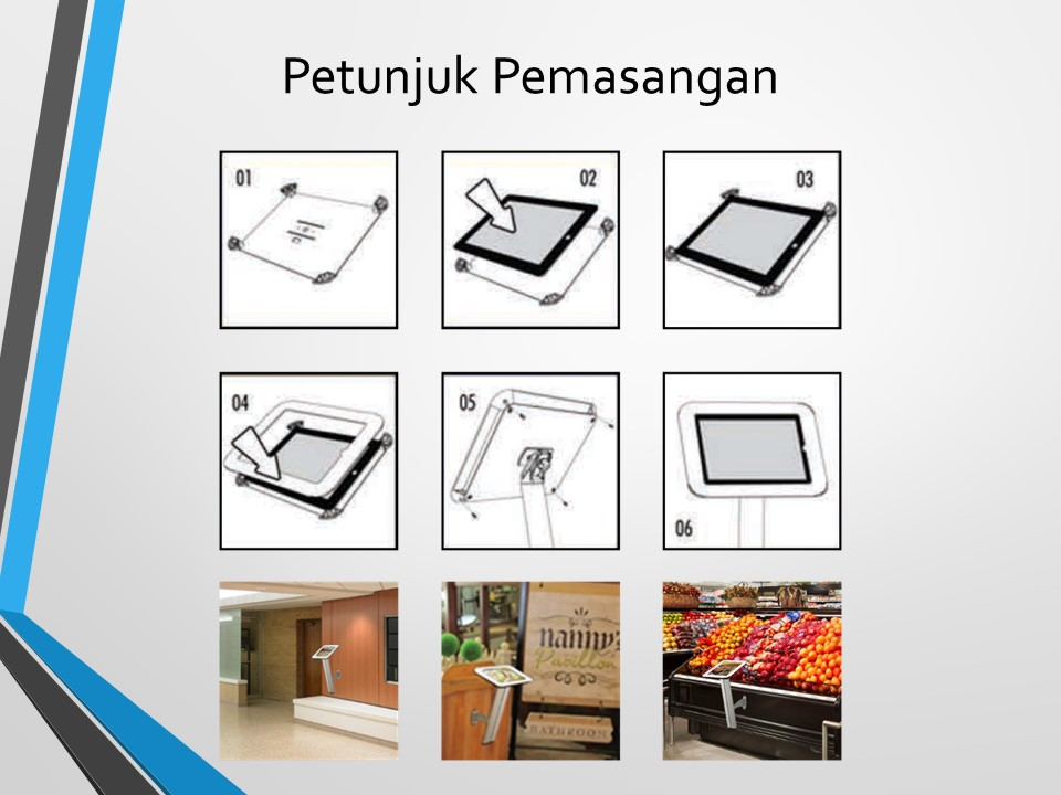 Jual display iPad Stand
